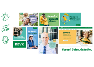 DEVK Corporate Design, Quelle: Radikant