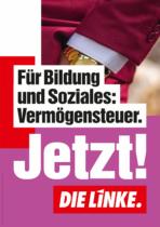 DIE LINKE Plakat Bundestagswahl 2021 – Bildung