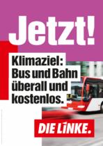 DIE LINKE Plakat Bundestagswahl 2021 – Klima