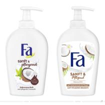 Fa Flüssigseife Sanft & pflegend – vorher und nachher