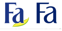 Fa Logo – vorher und nachher