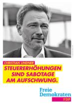 FDP Plakat Bundestagswahl 2021 – Aufschwung