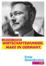FDP Plakat Bundestagswahl 2021 – Wirtschaftswunder