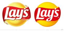 Lay's Logo – vorher und nachher