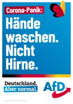 AfD Straßenplakat Bundestagswahl 2021, Quelle: AfD
