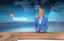 ZDF-Nachrichtenstudio im neuen Design – Barbara Hahlweg