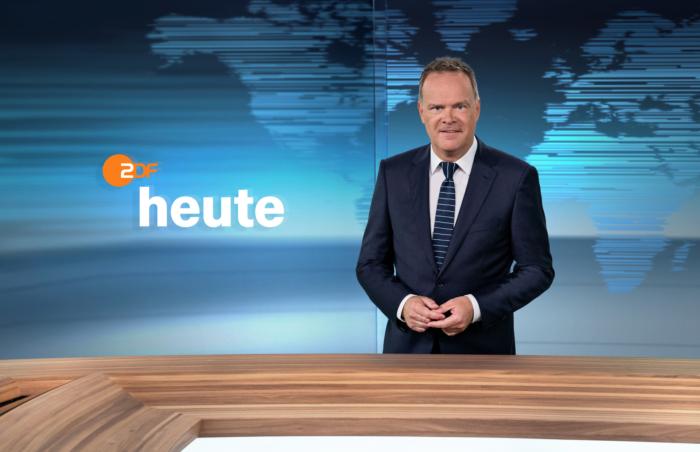 ZDF-Nachrichtenstudio im neuen Design – Christian Sievers