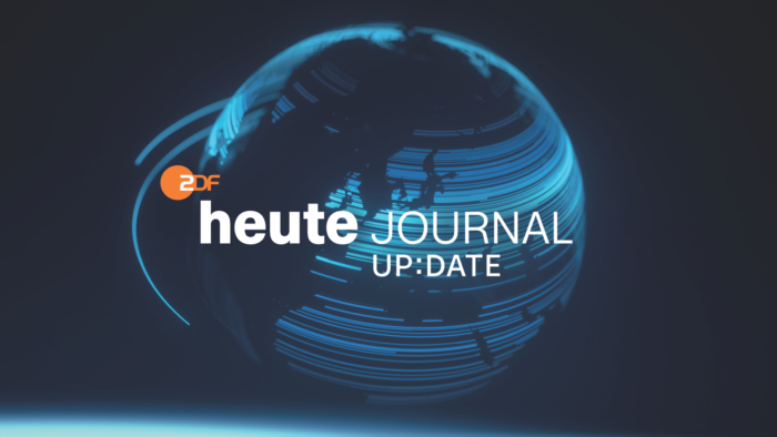 """ZDF-Nachrichten Key Visual """"heute journal up:date"""""""