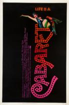 Cabaret Filmposter – entworfen von Joe Caroff