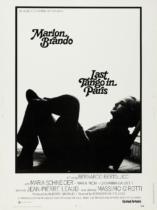 Last Tango in Paris Filmposter – entworfen von Joe Caroff