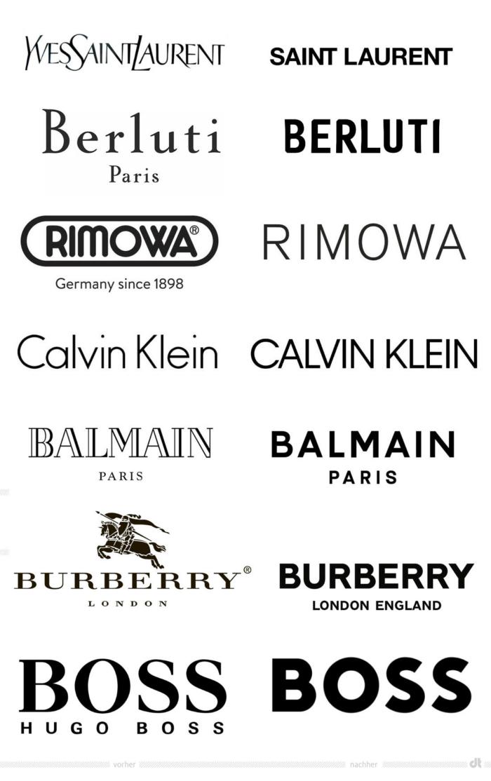 Modemarken Redesigns – vorher und nachher