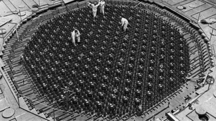 Tschernobyl – Achteckige Form des Kernreaktors