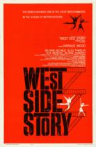 West Side Story (1961) Filmposter – entworfen von Joe Caroff