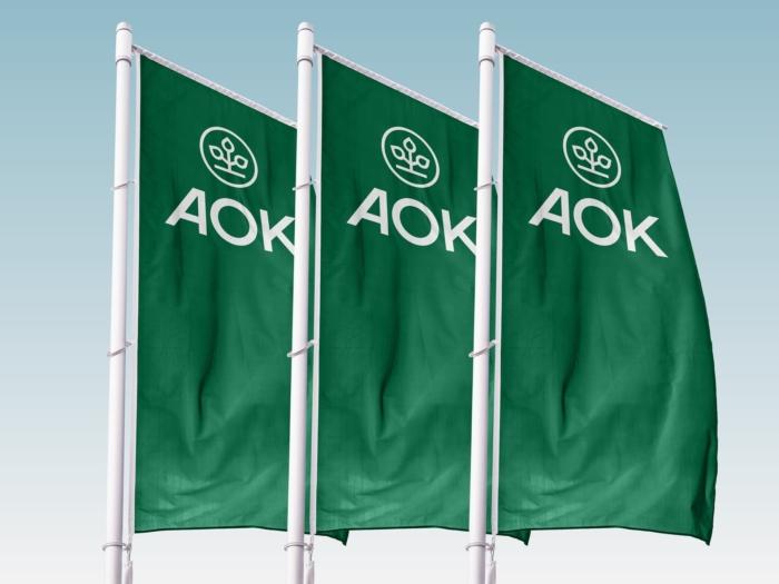 AOK Markendesign 2021