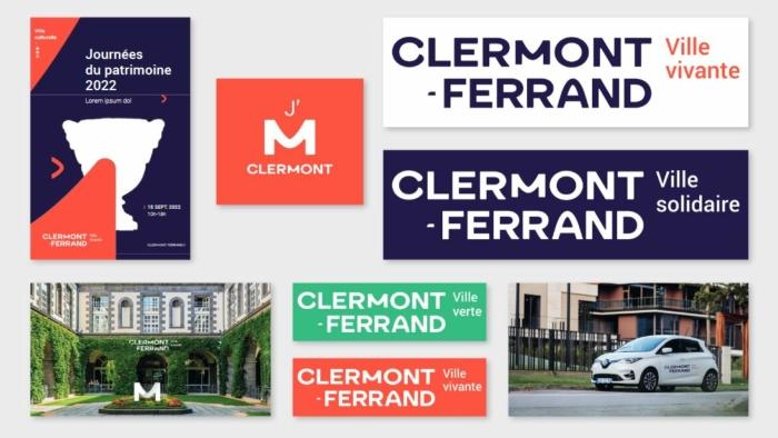Clermont-Ferrand Logo Entwurf 1 Visual