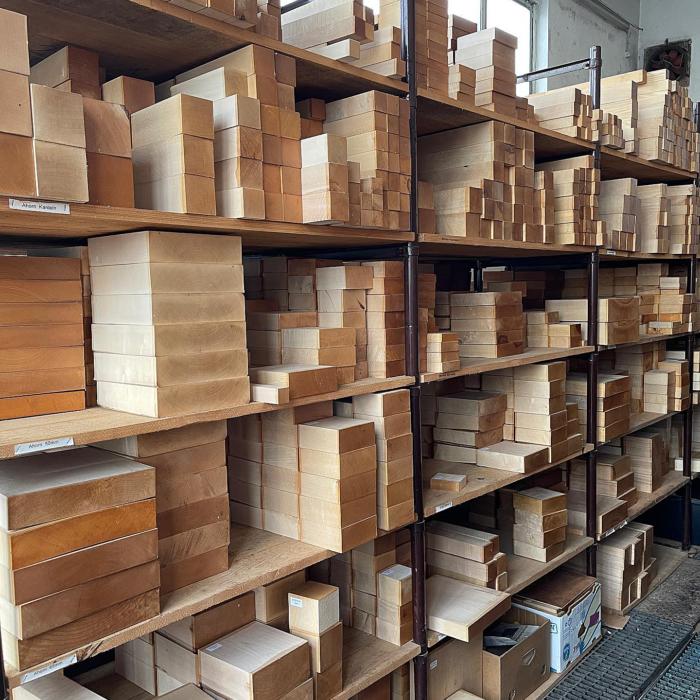 Holzlager, Quelle: Spessartbrett