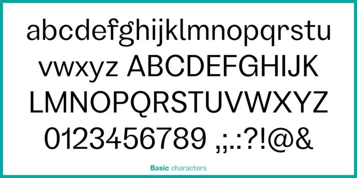 GARINO Basic Characters