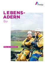 Amprion Geschäftsbericht 2019 Magazin Cover, Quelle: Amprion
