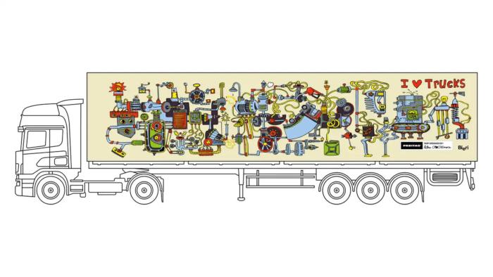 Design A Truck Edition – designed by Hélène Crochemore, Quelle: FREITAG