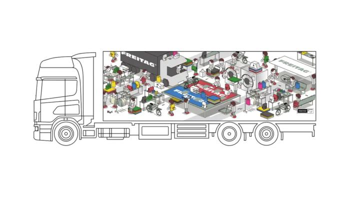Design A Truck Edition – designed by Shibutani Suguru, Quelle: FREITAG