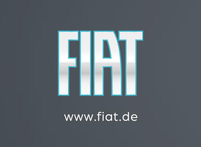 Fiat Logo (aus Prospekt 500 2020), Quelle: Fiat