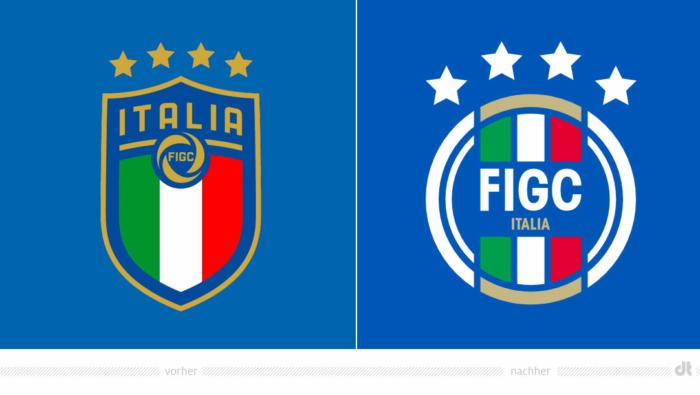 FIGC Logo – vorher und nachher