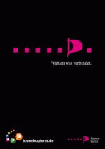 """Piratenpartei - Wahlplakat """"Wählen was verbindet"""""""