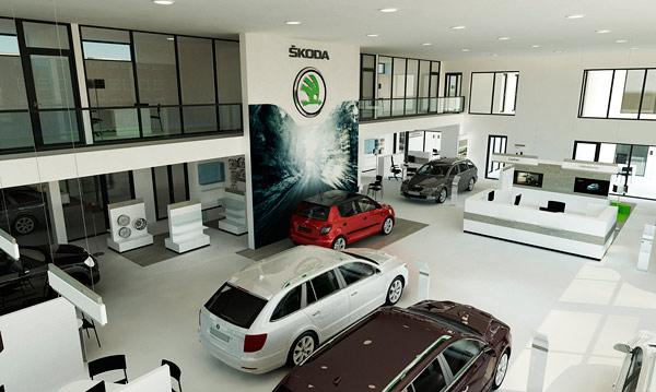 SKODA Store Design