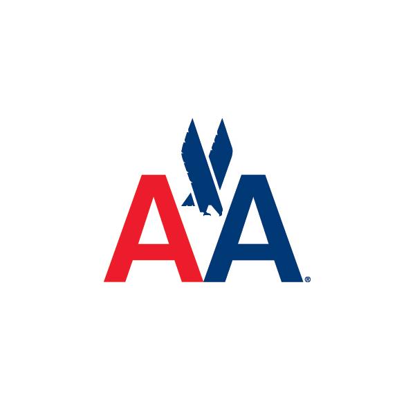 bisherige Bildmarke, der Adler von American Airlines