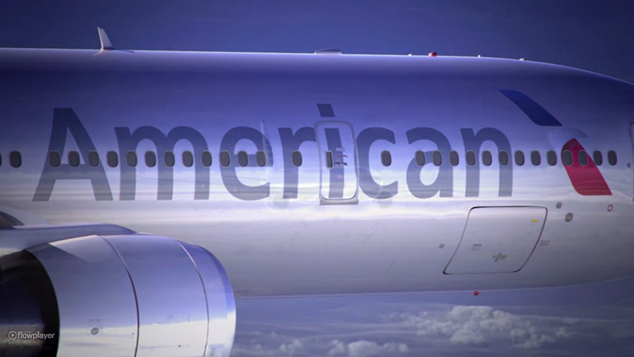 AA American Airlines Livery, Flugzeuglackierung