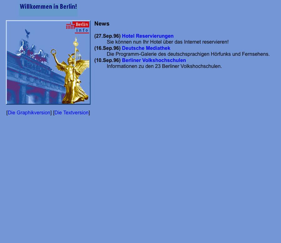 Berlin.de – 1996
