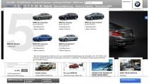 BMW.de Hauptnavigation