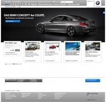 BMW.de Homepage ab 12/2012