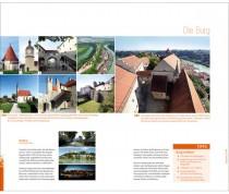 Erscheinungsbild Stadt Burghausen – Anwendungsbeispiel (Broschüre)