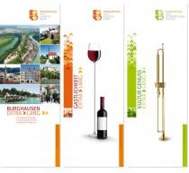 Erscheinungsbild Stadt Burghausen – Anwendungsbeispiel (Roll-Up)