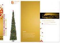 Erscheinungsbild Stadt Burghausen – Anwendungsbeispiel (Weihnachtskarte)