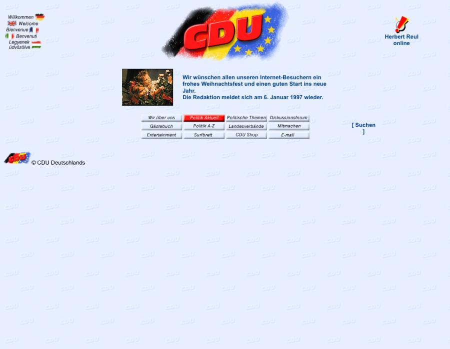 CDU.de – 1996