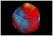 Schwerefeld der Erde © ESA