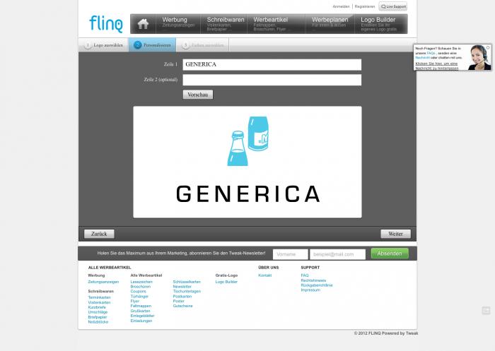 flinq – Der Logo-Discounter für mittelständische Self-made-Unternehmer