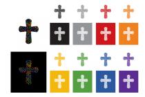 Dänische Volkskirche (Folkekirken) – grafisches Element