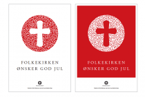 Dänische Volkskirche (Folkekirken) – Plakat