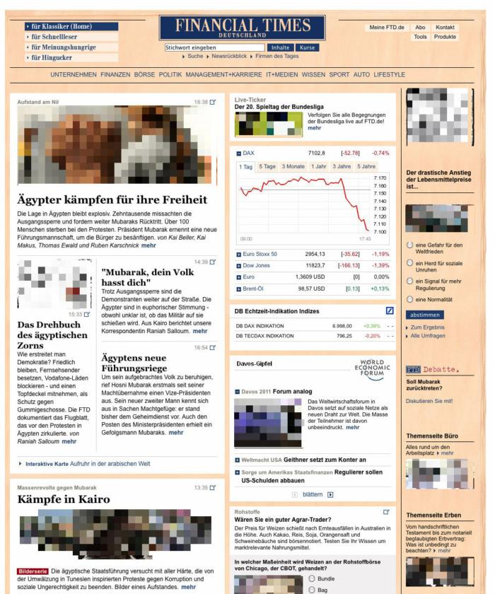 FTD.de Relaunch 2012