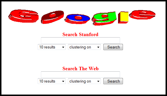 Google Search Engine – Stanford University 1997