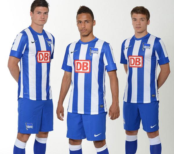 Hertha BSC Heimtrikot 2012/2013