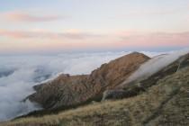 Wolkendecke am Punta del' Orient – GR 20