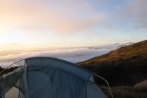 Abendstimmung am Col de Luana – GR 20