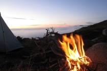 Ein Lagerfeuer durfte natürlich nicht fehlen – GR 20