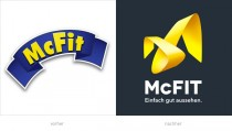 McFIT Logos - vorher und nachher