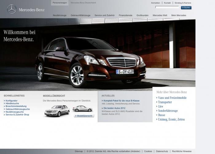 Relaunch bei Mercedes-Benz
