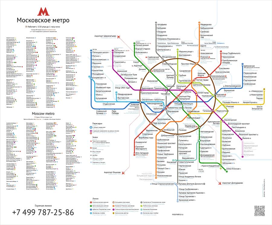 Metro Plan Moskau – 3. (Birman)